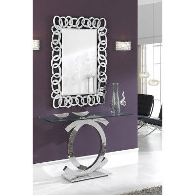 espejo eslabones espejos de cristal modernos
