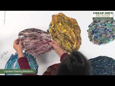 ▶ Debbie Arnold- Revealing Acrylic Poured Skins - YouTube. The characteristics of various mediums used to make acrylic skins. myb