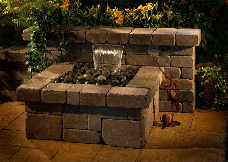 1000 images about do it yourself diy patio hardscape for Do it yourself water features