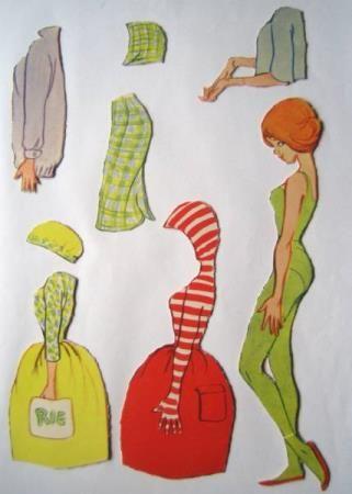 Christel Teenager med grøn tricotdragt