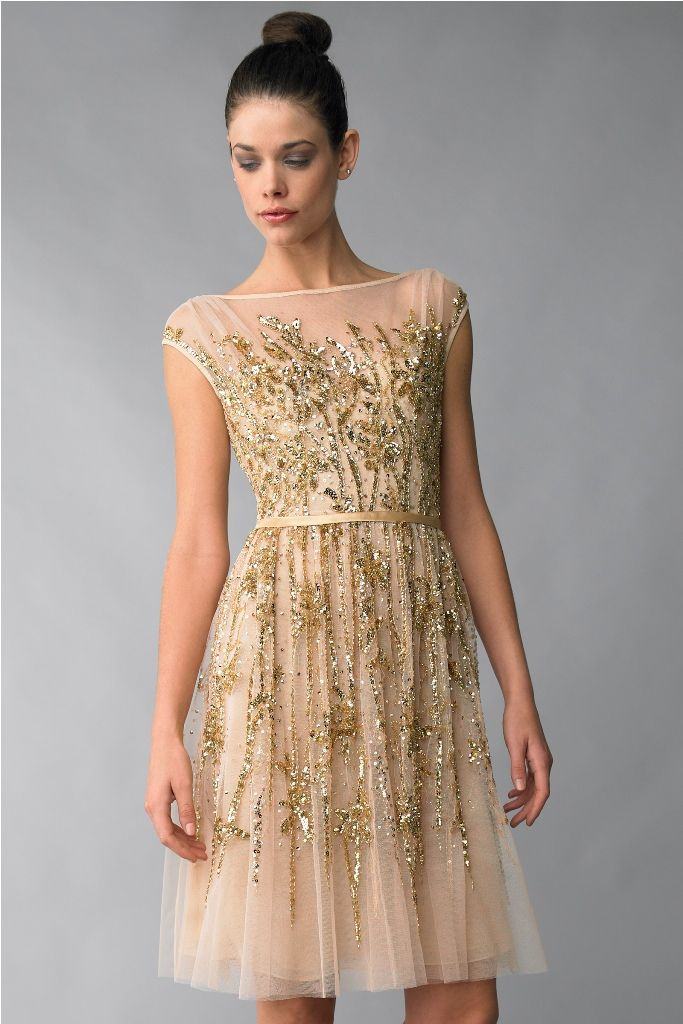 black-and-gold-cocktail-dresses