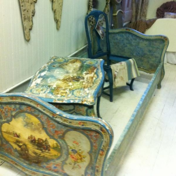 Antique French/Italianate Day Bed · Painted BedsHand Painted  FurniturePainting ...