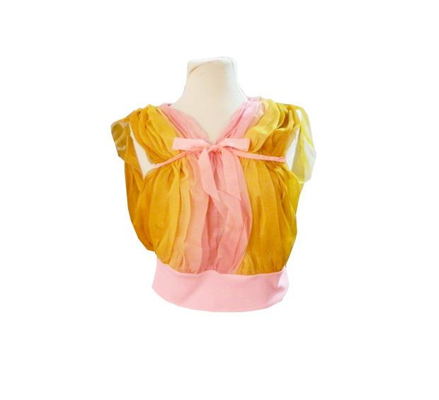 Bluza Golden Pink de handmademylove Breslo