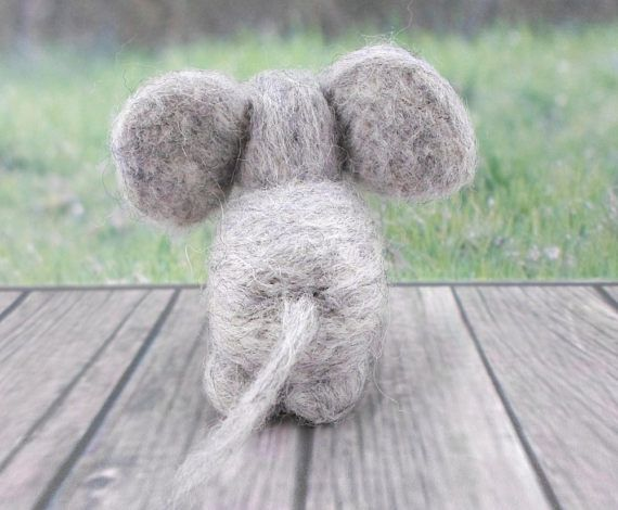 *To apply a Published Discount, check out the Coupon Code on https://www.etsy.com/shop/gattinigifts (Announcement Section)  ♥ This needle felted Pet is a Tender Elephant who loves make friends ♥ Take it home!  This friend measures approximately 2.2 in x 2.4 in x 3 in  This Elephant is handmade You will take home exactly the Elephant of the photo :D  Its made out of soft & high quality Wool (100% Pure Wool), with beads in his eyes Gattini gifts Needle Felted Pets can be...