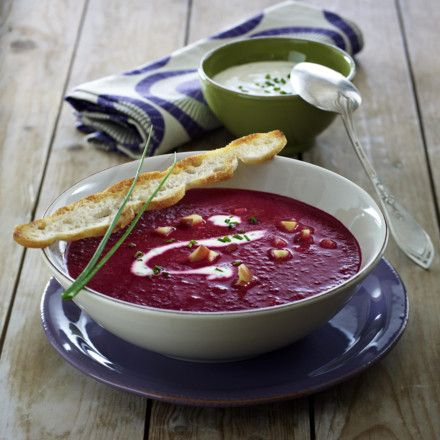 Rote-Bete-Apfel-Suppe Rezept   LECKER