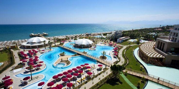 Sezonul de vara 2018 la mare pe litoral in Antalya Belek la Hotel Kaya Palazzo Golf de 5 stele din Turcia