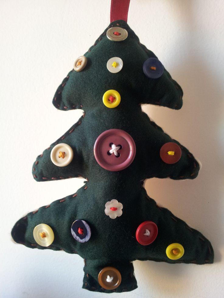 Albero di Natale bottoni