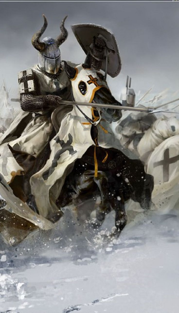medieval - Knights of the Teutonic order