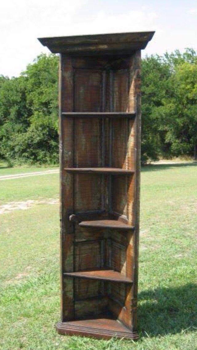 Door made into a bookshelf