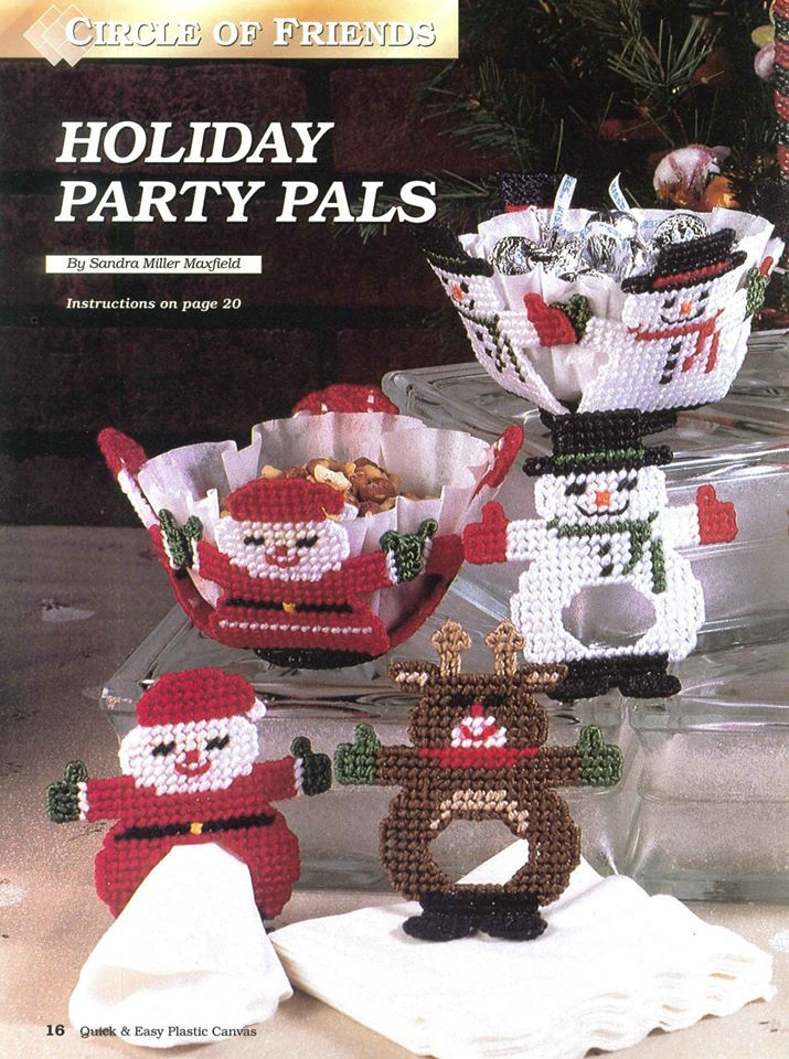 HOLIDAY PARTY PALS by SANDRA MILLER MAXFIELD 1/3