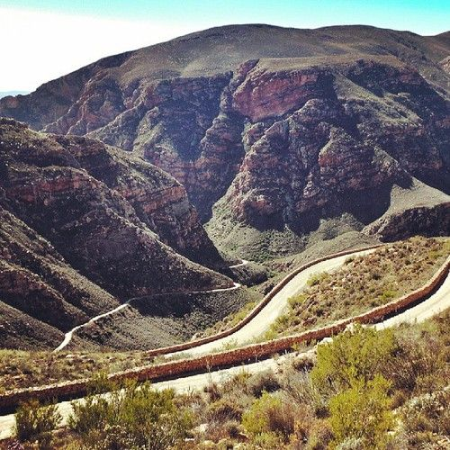Swartberg Pass in the winter sun