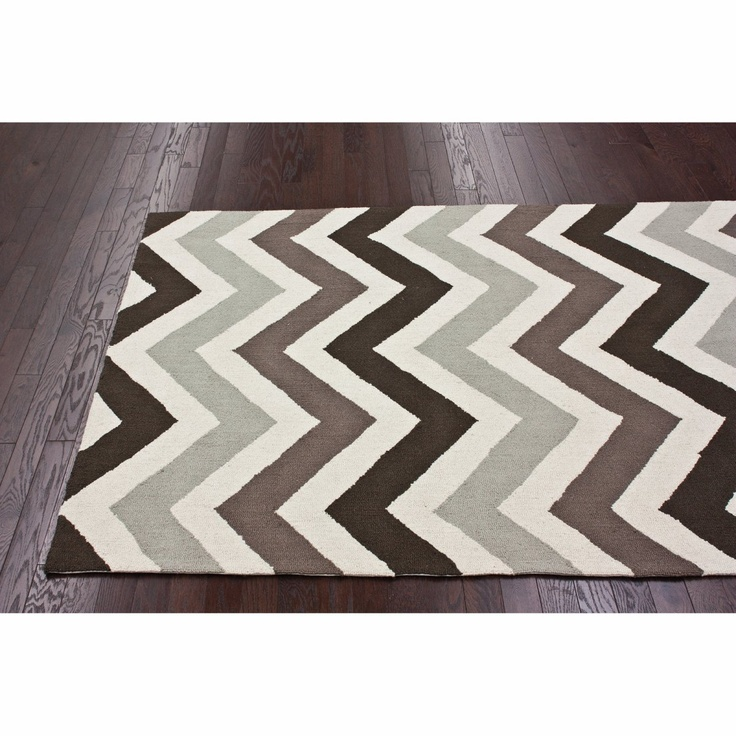 No One Can Deny That #chevron Is In. #modern Rug. Navy Blue ...