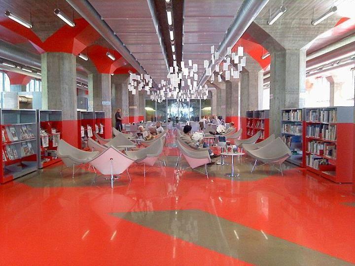 Bibliothèques du Monde La bibliothèque André Malraux à Strasbourg, en France (Photo Pierre Rudloff)