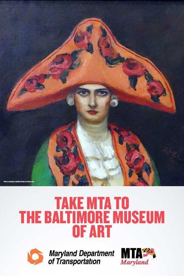 Going to Baltimore Museum of Art? Take Light Rail, Bus or Metro Subway--no parking pain!