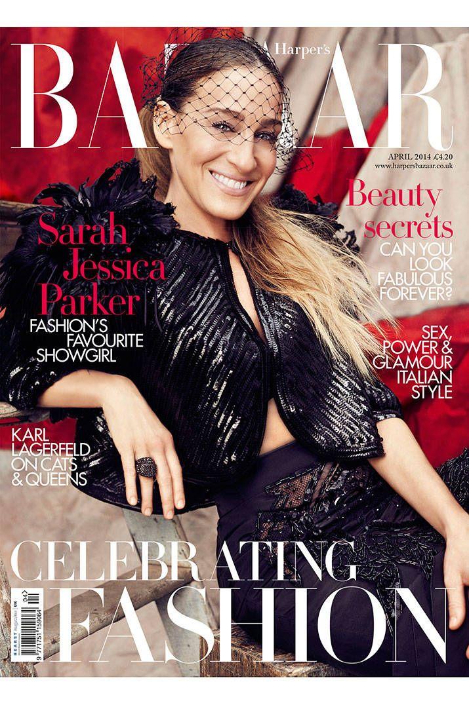 Sarah Jessica Parker Covers Harper's BAZAAR UK