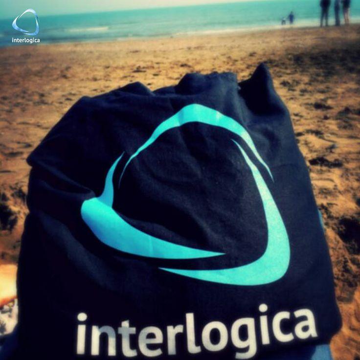 ...che dire? Questa foto parla da sola: buon fine settimana a tutti gli amici di Interlogica!  #weekend #finesettimana #spiaggia #mare #sole #interlogica #amici