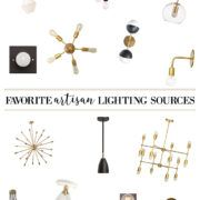 Claire Brody Designs -- Favorite Artisan Lighting Sources