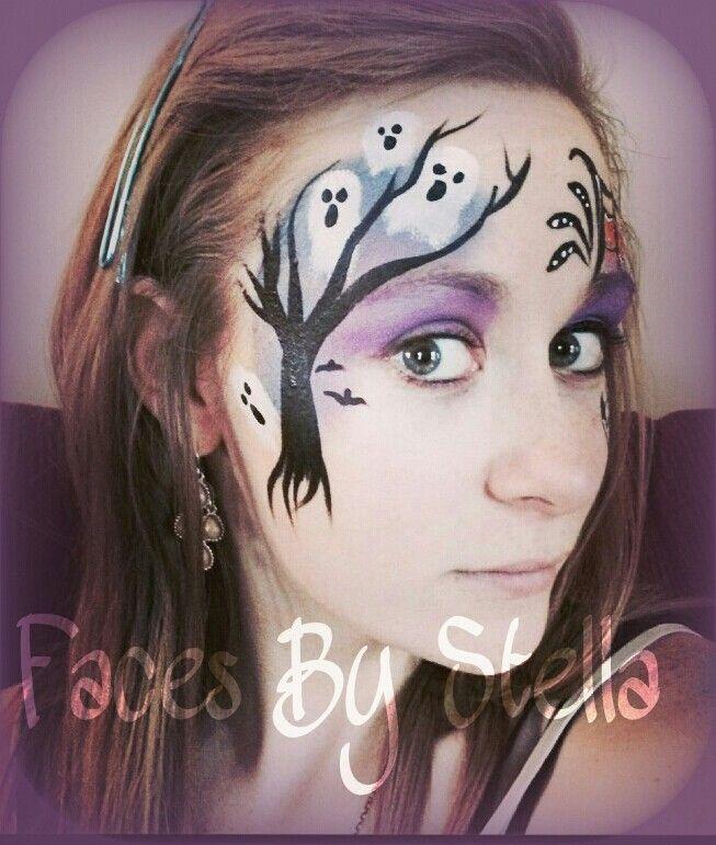 Halloween face paint!