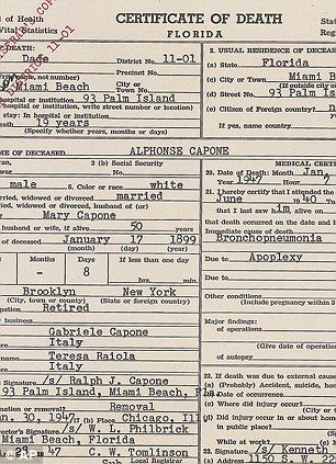 Letters And Notes That Illustrate Al Capones Descent Into