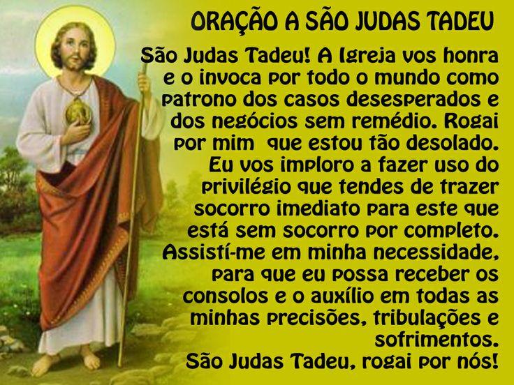 São Judas, designado por Tadeu (que significa o corajoso), é um dos Doze Apóstolos escolhidos por Jesus para o acompanhar na Sua vida pública. Visitar página