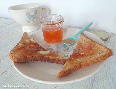 My Culinary Curriculum: Confiture de pêches (blanches) maison (Homemade pe...