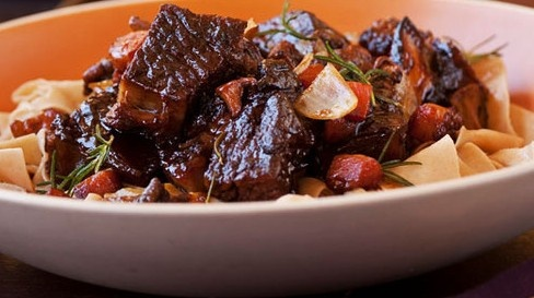 Beef Short Rib Bourguignon - Pair with Twomey Pinot Noir and Merlot