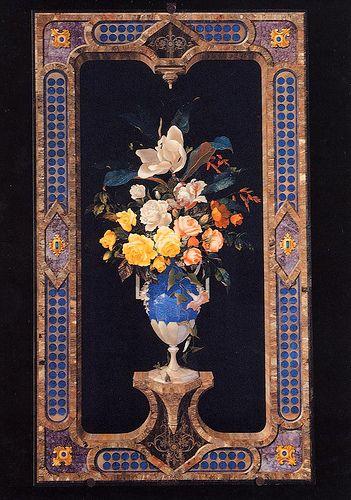 Firenze_Museo Opificio Pietre Dure_vaso di fiori #TuscanyAgriturismoGiratola