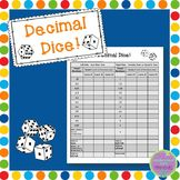 Decimal Dice - A Fraction to Decimal Conversion Game