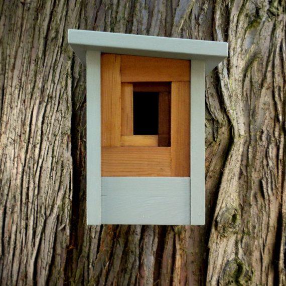 Birdhouse, moderno artigiano-l