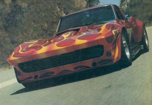"""vs-design:  """" Chevrolet Corvette C2 Custom  Mid 70's  """""""