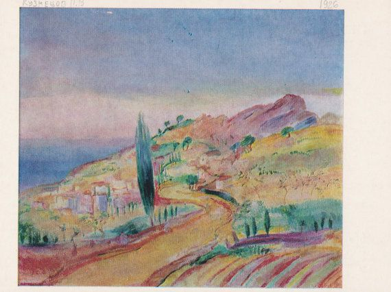 Roads in Russian Art. Collection / Set of 14 by RussianSoulVintage