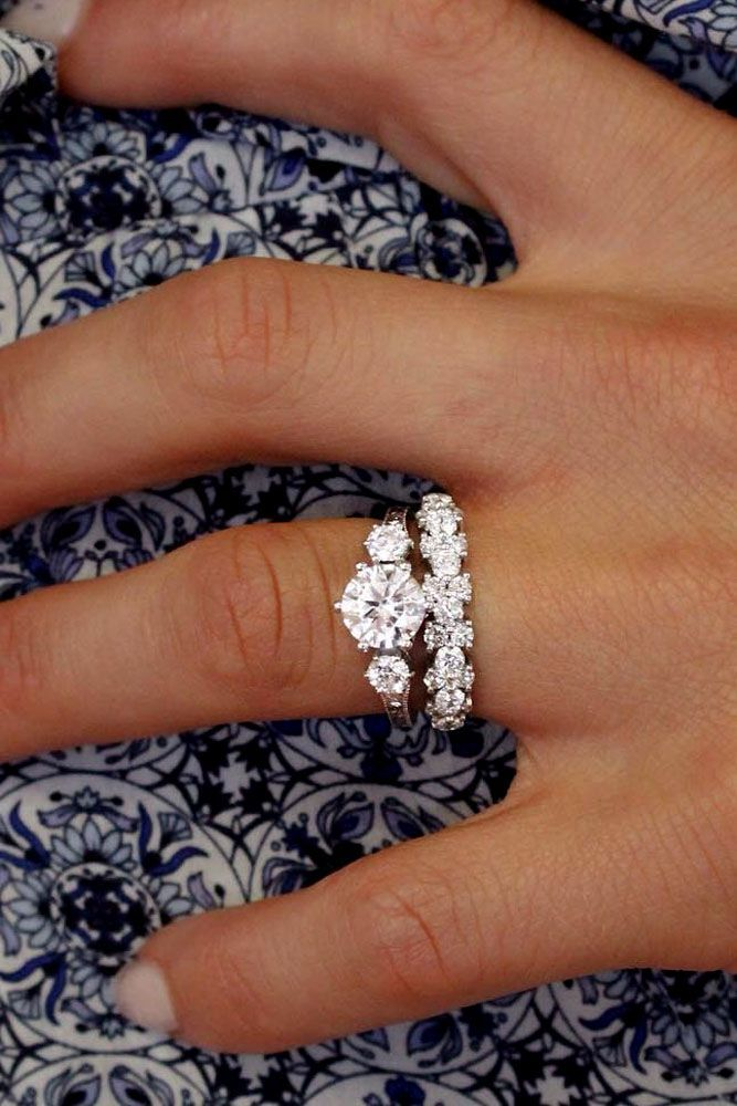 Engagement Rings 18 Excellent Wedding Ring Sets For Beautiful Women Wedding Ring Sets Three S Wedding Lande Leading Wedding Magazine Ideas Inspirat Wedding Rings Vintage Wedding Rings For Women Big Wedding Rings
