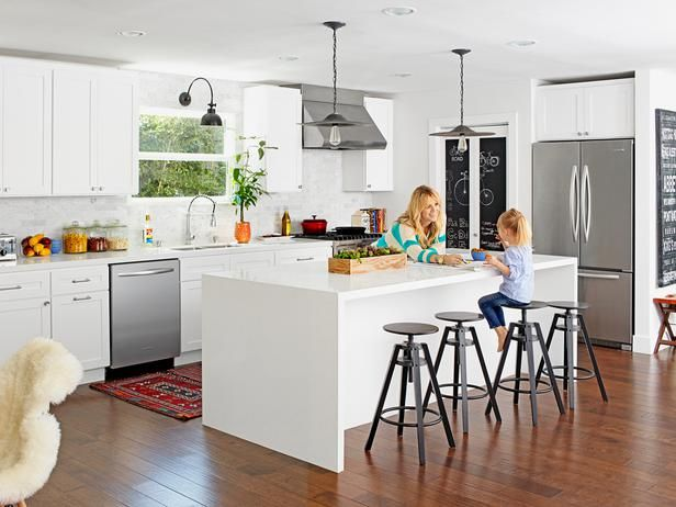 White Paint, Small-Space Remodel : Decorating : Home & Garden Television