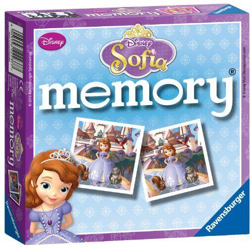 Games - Disney Sofia Memory Game - Ravensburger @ niftywarehouse.com #NiftyWarehouse #Disney #DisneyMovies #Animated #Film #DisneyFilms #DisneyCartoons #Kids #Cartoons