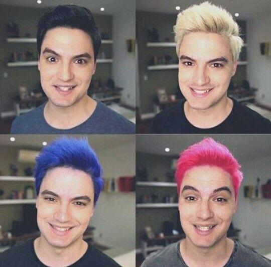 Os cabelinhos de Felipe Neto!!