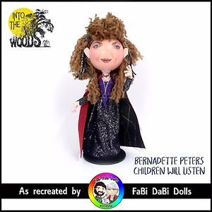 sondhiem into the woods bernadette peters witch peg doll by fabi dabi dolls available now on ebay store