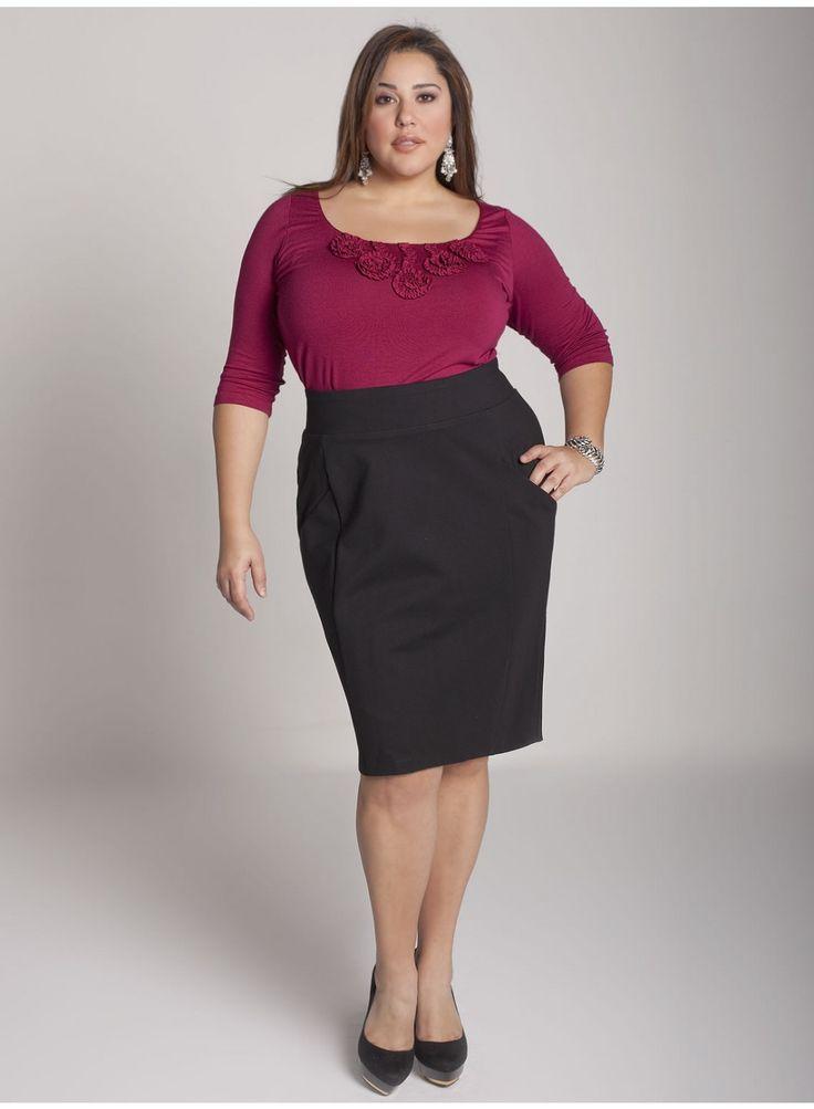 Plus Size Skirts | Plus Size Pencil Skirt