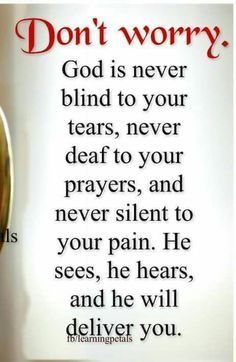 God will deliver you