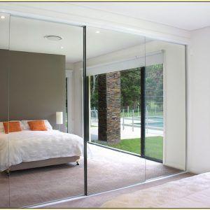 Bedroom Closet Mirror Sliding Doors