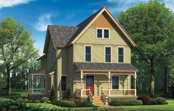 Photoshop Redo Punching Up A Proud Farmhouse House Ideas House Exterior Color Schemes Exterior House Colors Farm House Colors