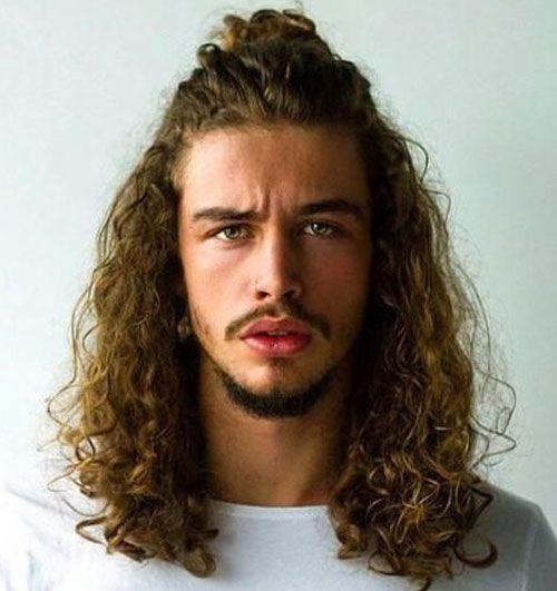 Long Curly Hair For Men