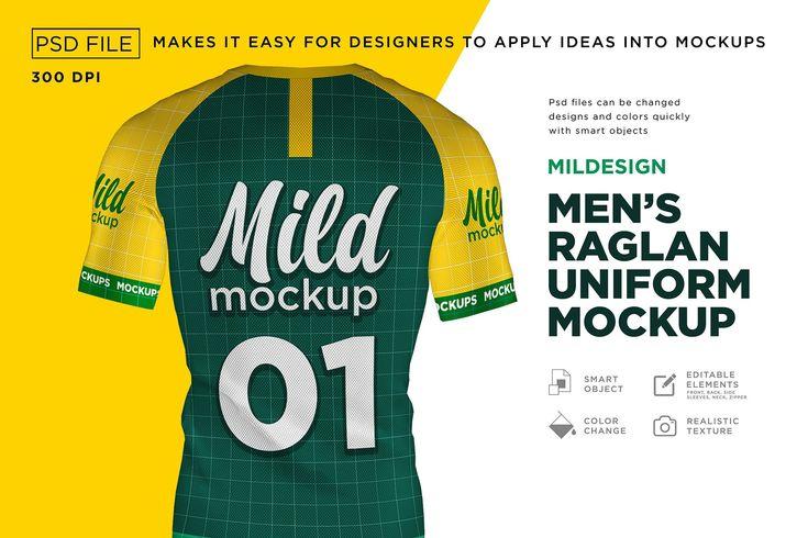T Shirt Uniform Mockup