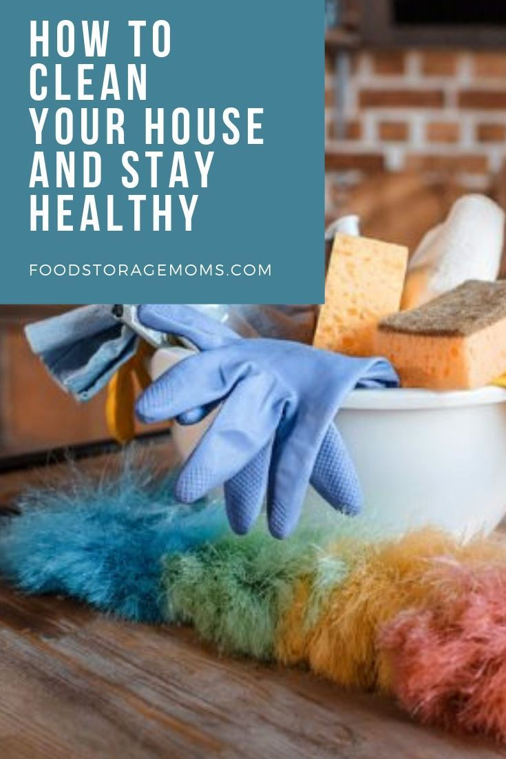 Today I'm sharing how to clean your home and stay healthy. I am hoping this po…