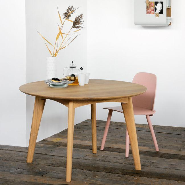 Nordicthink - osso round dining table | Ethnicraft