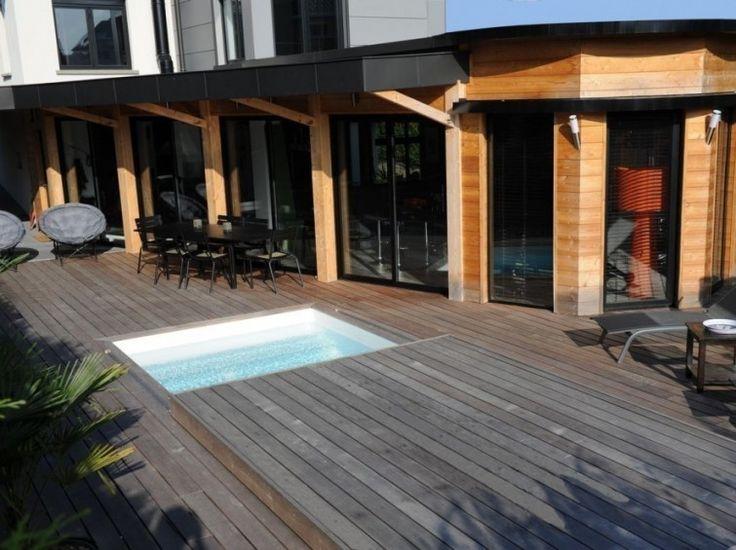 Cómo construir una cubierta móvil para la piscina- posición 2