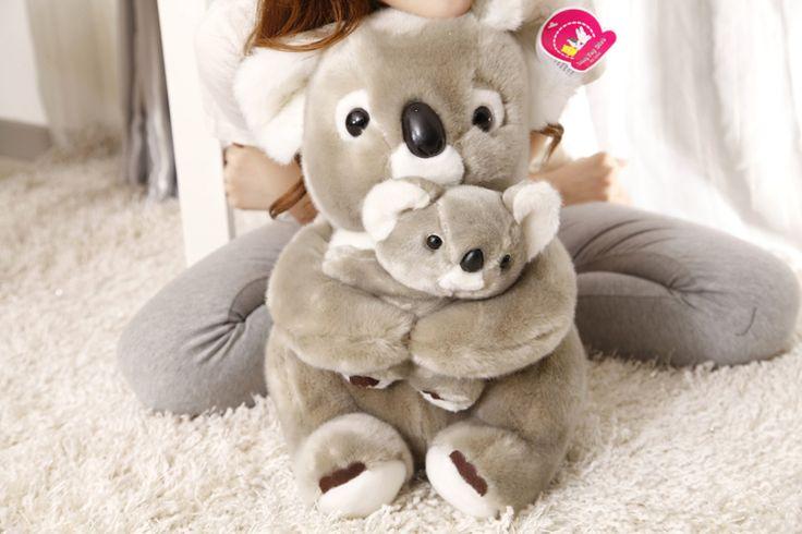 Peluche-de-40-cm-del-oso-de-koala-ha-abrazado-a-beb&eacute