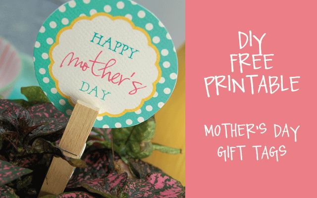 DIY Free Printable - Mother's Day