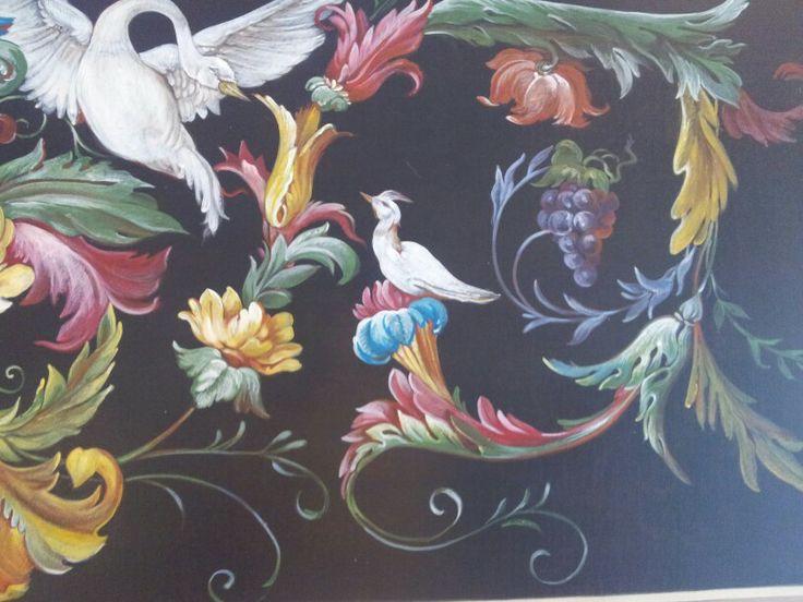 Arianna Fabbretti pitture decorative particolare