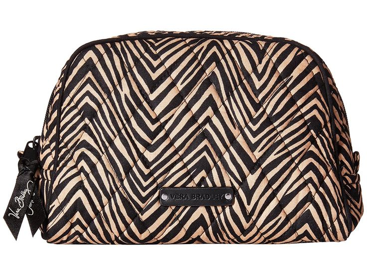 Vera Bradley Medium Cosmetic - Retired Prints (Zebra) *** Wow! I love this. Check it out now! : Travel cosmetic bag