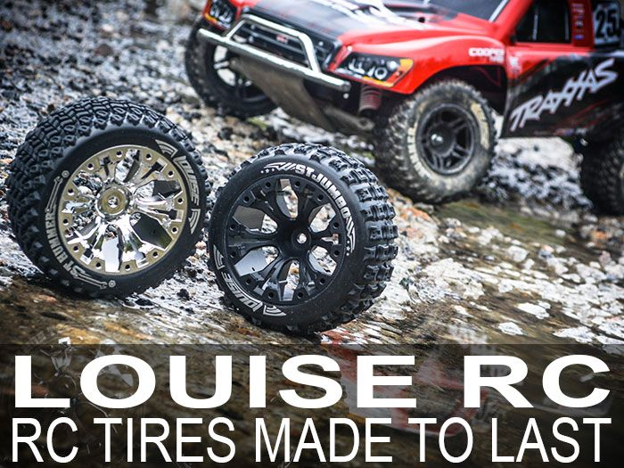 If you're looking for some top level tires to bash or race with, it's time to meet Louise RC and their variety of short-course truck and buggy tires!